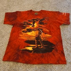 The Mountain Native American  vintage tee